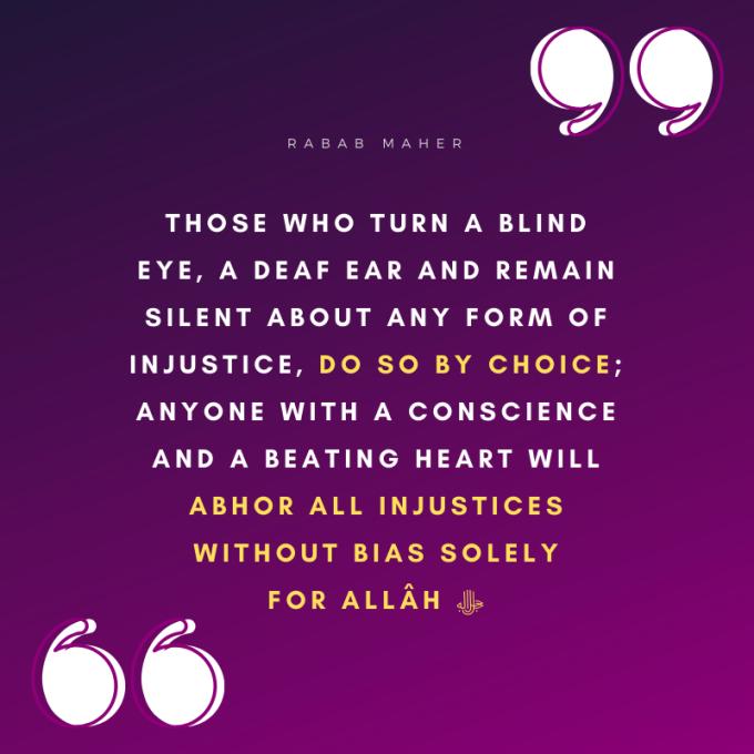 Justice Saying 2 Rabab Maher