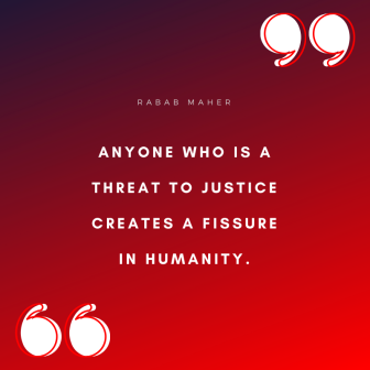 Justice Saying 5 Rabab Maher