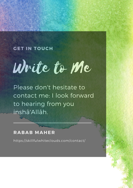 Get-in-Touch-Write-to-Me-Contact-Me-Page-Rabab-Maher